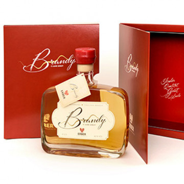 Brandy 40% 15 jahre gereift mit Verpackung