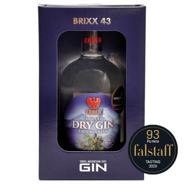 Brixx43 Gin mit Verpackung